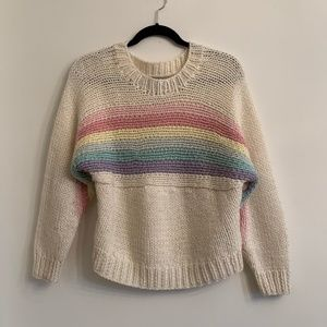 UNIF Rainbow Knit Sweater